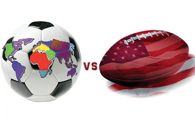 soccer vs football compare and contrast essay