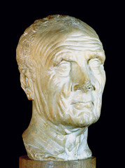 Head of an Old Man is an example of sculpture from the _______ portrait tradition.